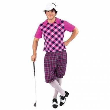 3delig golf kostuum heren