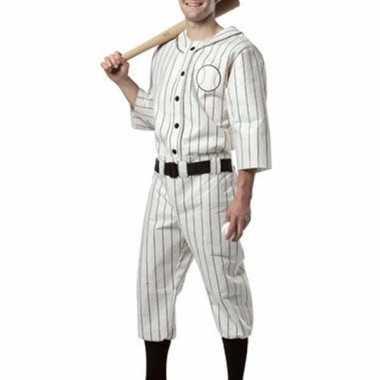 Amerikaanse honkbalspeler kostuum