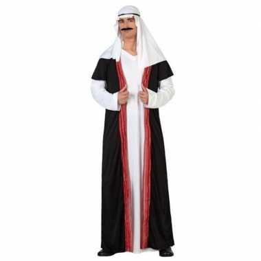 Arabische sjeik 1001 nacht verkleed kostuum/gewaad heren