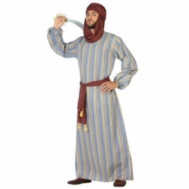 Arabische strijder ali verkleed kostuum/gewaad heren