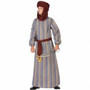 Arabische strijder ali verkleed kostuum/gewaad kinderen