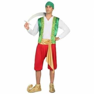 Arabische strijder amir verkleed kostuum heren