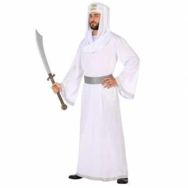 Arabische strijder hassan verkleed kostuum/gewaad heren