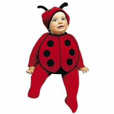 Baby kostuum lieveheersbeestjes