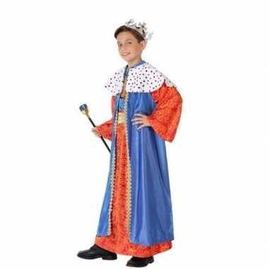 Balthasar drie wijzen kostuum kinderen blauw