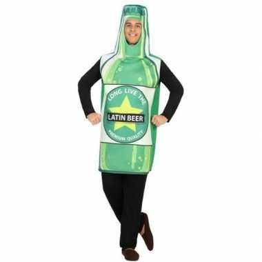 Bierfles fun verkleed kostuum volwassenen