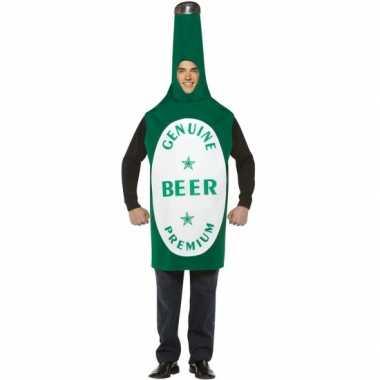 Bierfles kostuum groen