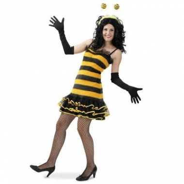 Bijen carnavalskostuum dames