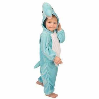 Blauw dolfijnen kostuum kinderen