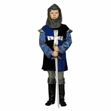 Blauw ridder kostuum kinderen