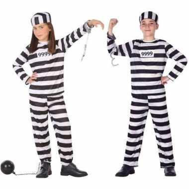 Boef/boeven verkleed pak/kostuum kinderen