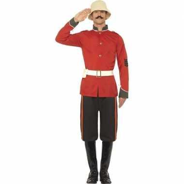 Boerenoorlog soldaat kostuum heren