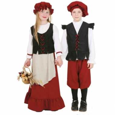 Boerinnen kostuum kinderen