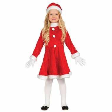 Budget kerstjurkje verkleed kostuum muts kinderen