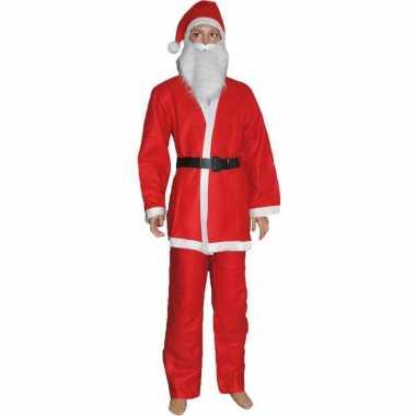 Budget kerstman verkleed kostuum kinderen