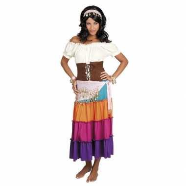 Buikdanseres kostuum lichtroze