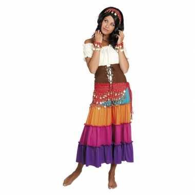 Buikdanseres kostuum rood