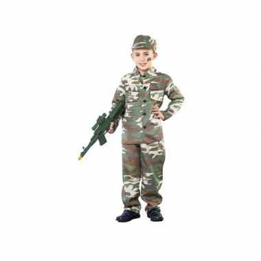 Camouflagekostuum kinderen