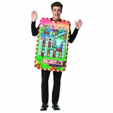 Candy crush kostuum volwassenen