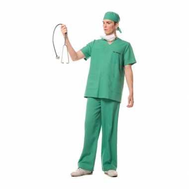 Carnaval chirurg kostuum