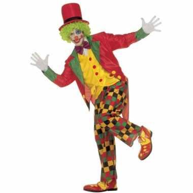 Carnaval Clownspak volwassenen