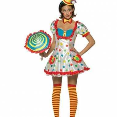 Carnaval Clownspakje dams