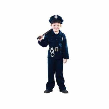 Carnaval politie kostuum kinderen
