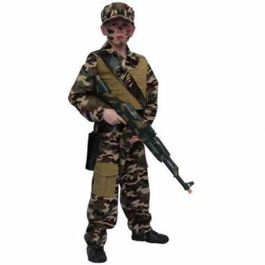 Carnaval Soldaten kostuum