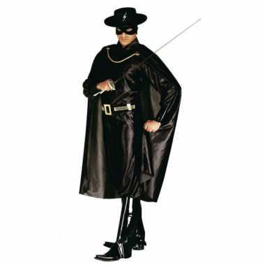 Carnaval Zorror kostuum heren