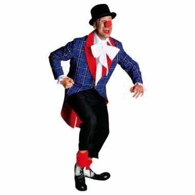 Carnavalkostuum clowns mantel