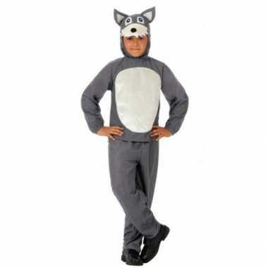 Carnavals kostuum wolf kinderen