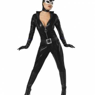 Catwoman kostuum dames