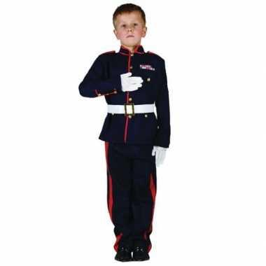 Ceremonieel soldaten kostuum kinderen