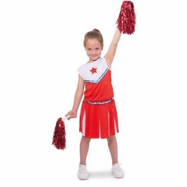 Cheerleader pakje verkleed kostuum kinderen