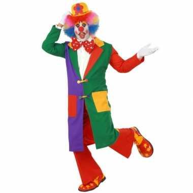 Circus kostuum clowns jas