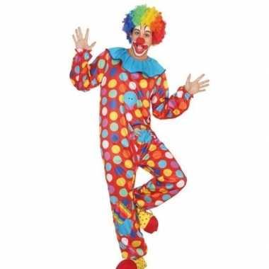 Clown verkleed pak/kostuum heren