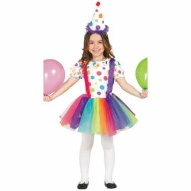 Clowns jurk hoed kinderen