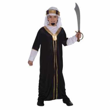 Compleet arabieren kostuum zwart