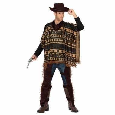 Cowboy/western verkleed kostuum heren