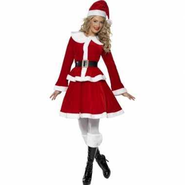 Dames kerst kostuum muts