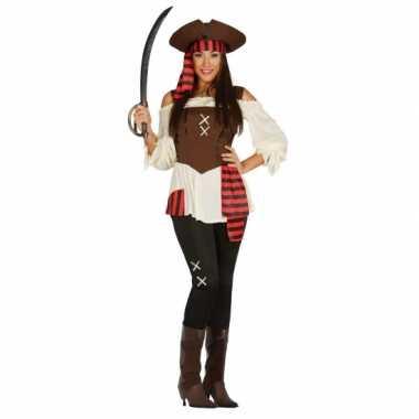 Dames piraten kostuum