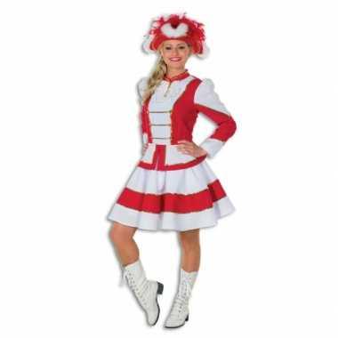 Dansmarieke kostuum rood wit