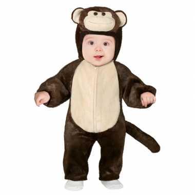 Dierenpak aap/apen verkleed kostuum peuters 12 18 maanden