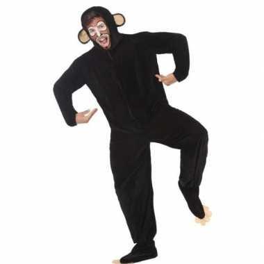 Dierenpak apen/chimpansee verkleedkostuum volwassenen