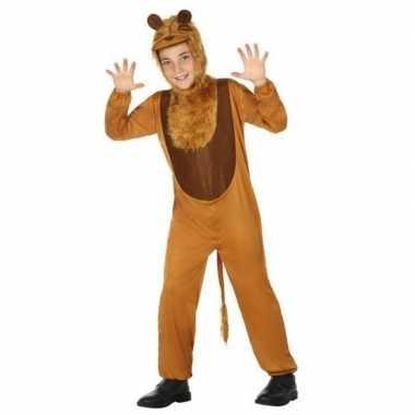 Dierenpak leeuw/leeuwen verkleed kostuum kinderen