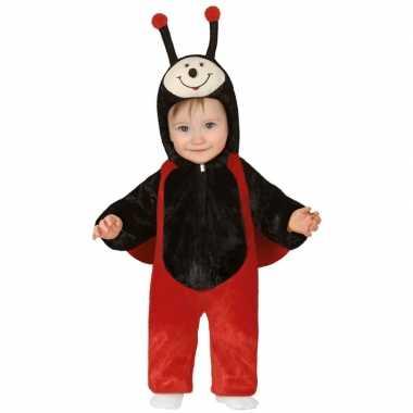 Dierenpak lieveheersbeestje kostuum peuters18 24 maanden