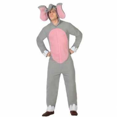 Dierenpak olifant verkleed kostuum volwassenen