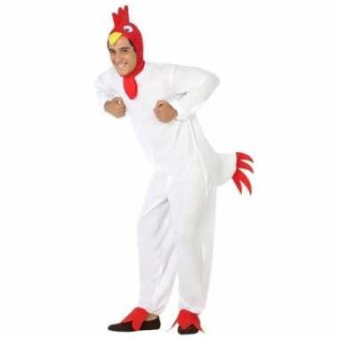 Dierenpak verkleed kostuum kip/haan volwassenen