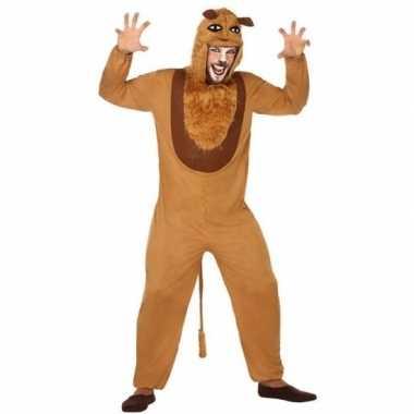 Dierenpak verkleed kostuum leeuw volwassenen