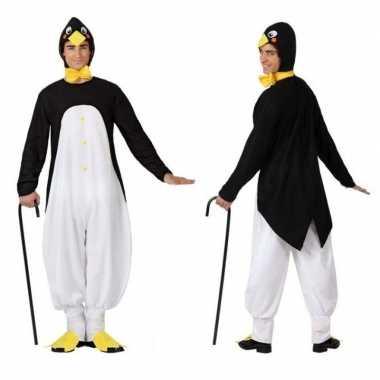 Dierenpak verkleed kostuum pinguin volwassenen